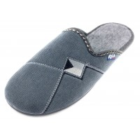 Домашние мужские тапочки AXA Comfort Maschile серые