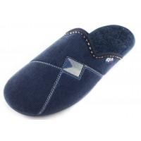 Домашние мужские тапочки AXA Comfort Maschile синие