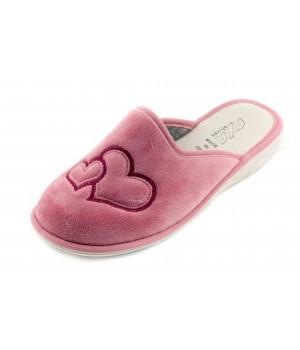 Домашние женские тапочки AXA Due Amori розовые