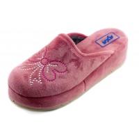 Домашние женские тапочки AXA Pietre Farfalle розовые