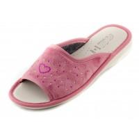 Домашние женские тапочки AXA Сuore Вella Stella розовые