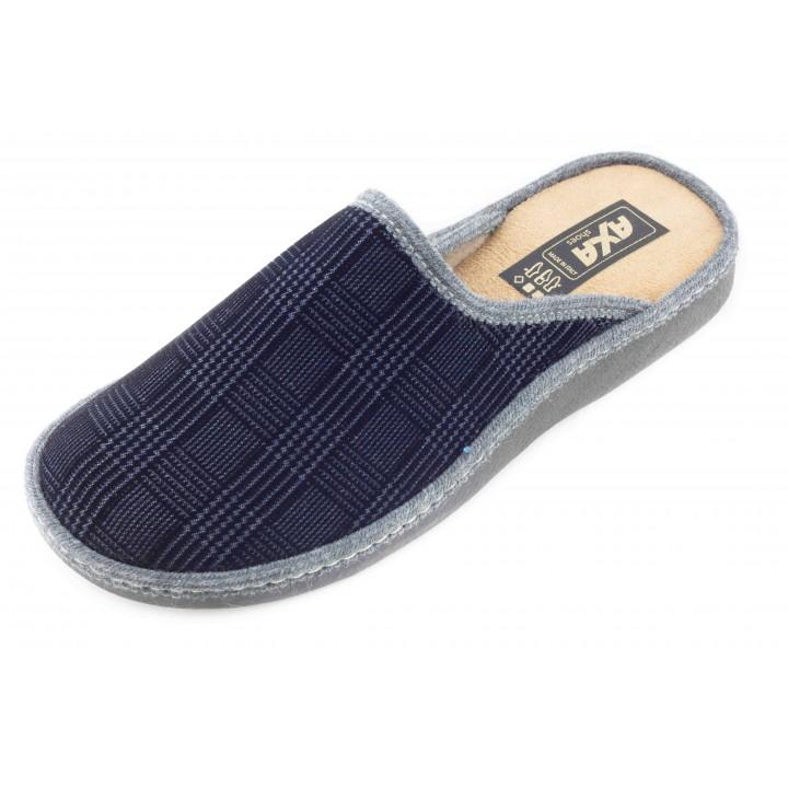 Домашние мужские тапочки AXA Сomoda nave черные