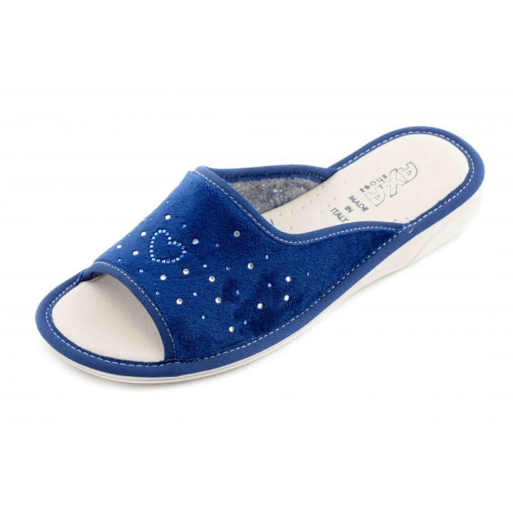 Домашние женские тапочки AXA Сuore Вella Stella синие