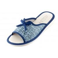 Женские тапочки AXA Maglia di Gioco синие