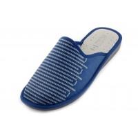 Домашние мужские тапочки Un Modello Rigoroso Blu