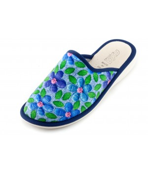 Женские тапочки Fili Delicati Blu