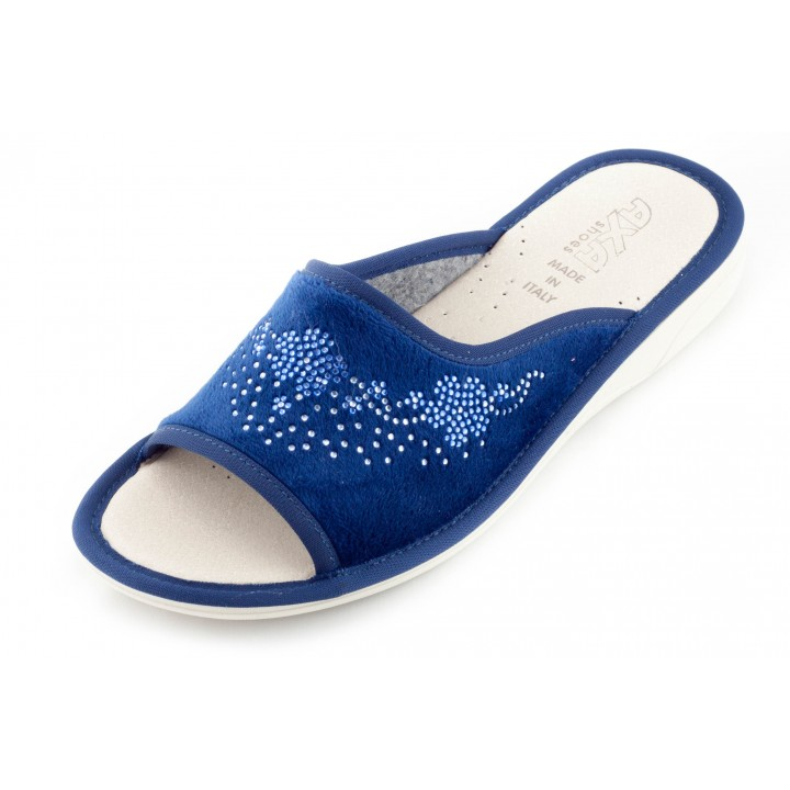 Женские домашние тапочки Uva Misteriosa Blu