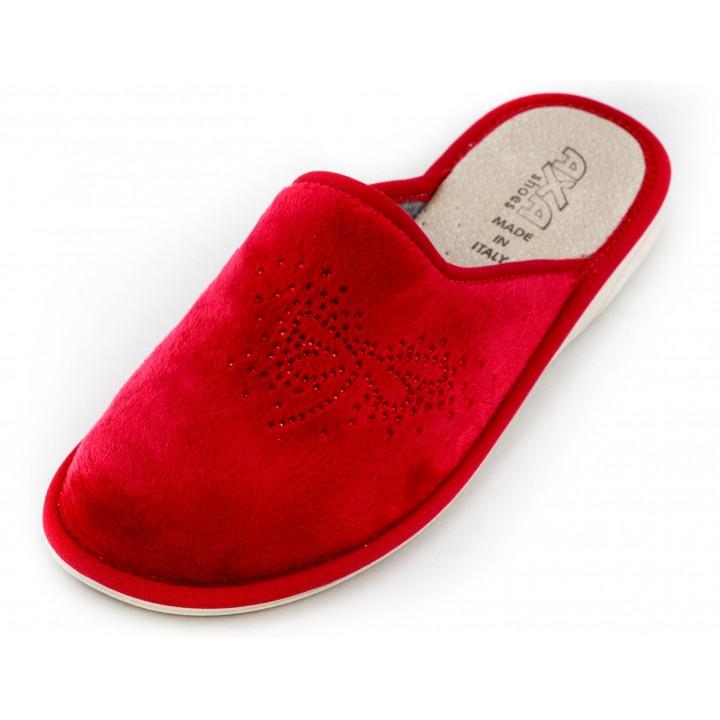 Домашние женские тапочки AXA Libellula rubino Rosso