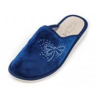 Домашние женские тапочки AXA Libellula svolazzante Blue