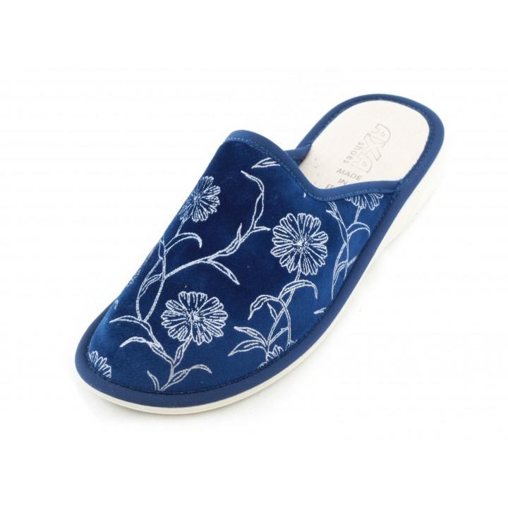 Домашние женские тапочки AXA Bouquet di madreperla Blue