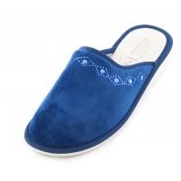 Домашние женские тапочки AXA Di rombi scintillanti Blue