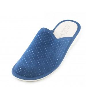 Домашние женские тапочки AXA Nobile grazia Blue