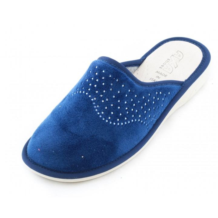 Домашние женские тапочки AXA Scintille cielo stellato Blue