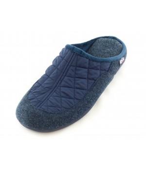 Мужские домашние тапочки AXA Effetto di riscaldamento Blue