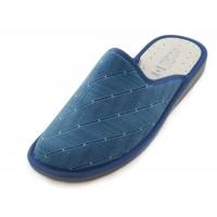 Мужские домашние тапочки AXA Strisce Sottili Blue