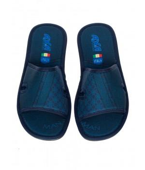 Мужские домашние тапочки AXA Comfort Per Gli Uomini Blue