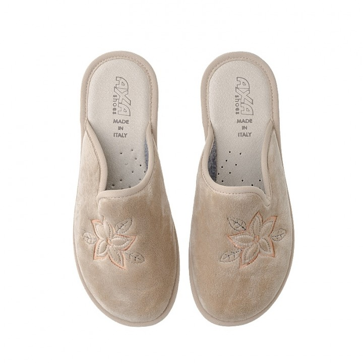 Домашняя женская обувь AXA Anemone Beige