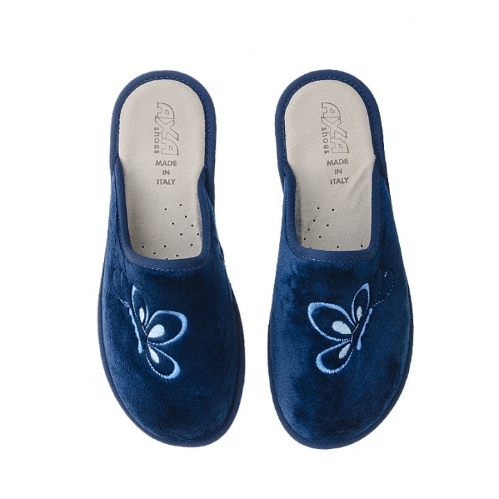 Домашняя женская обувь AXA Bella Farfalla Blue