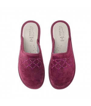 Домашняя женская обувь AXA Favo Bordo