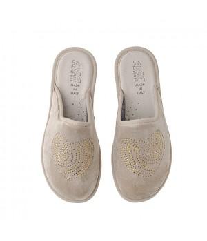 Домашняя женская обувь AXA Cuore Beige