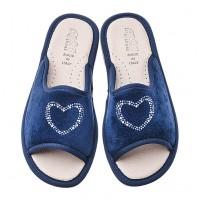 Домашние женские тапочки AXA Amorelove Blue
