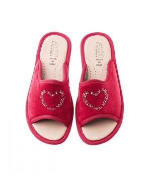 Домашние женские тапочки AXA Amorelove Rosso