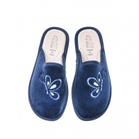 Домашние женские тапочки AXA Farfalla In Volo BLUE