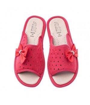 Домашние женские тапочки AXA  Fiocco Elegante Rosso