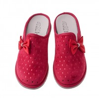 Домашние женские тапочки AXA Pioggia Splendente Rosso