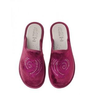 Домашняя женская обувь AXA Cuore Bordo