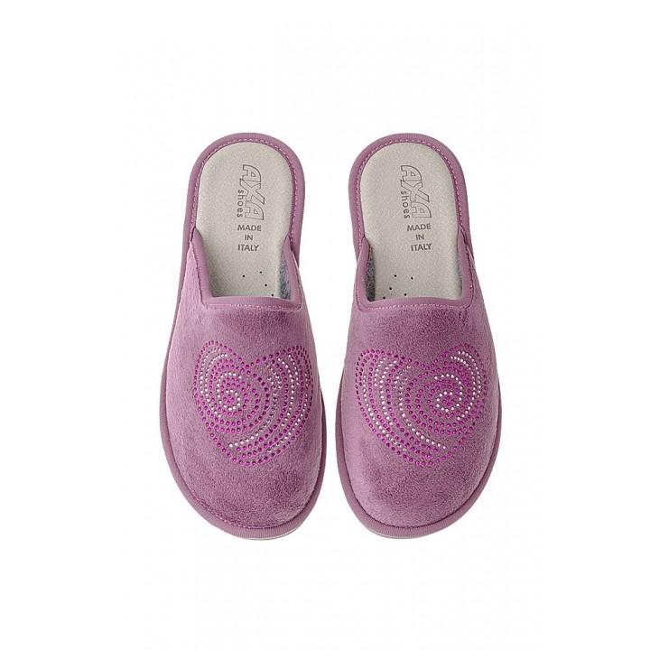 Домашняя женская обувь AXA Cuore Cipria Scuro