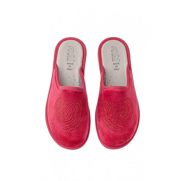 Домашняя женская обувь AXA Cuore Rosso