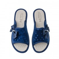 Домашняя женская обувь AXA Fiocco Blue