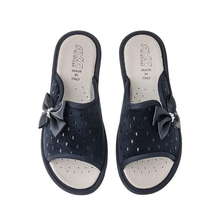 Домашняя женская обувь AXA Fiocco Nero