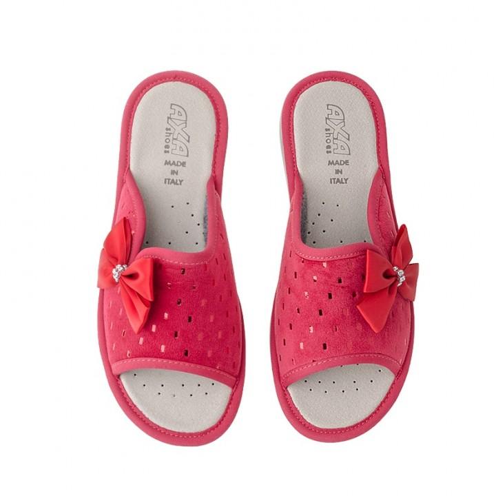 Домашняя женская обувь AXA Fiocco Rosso