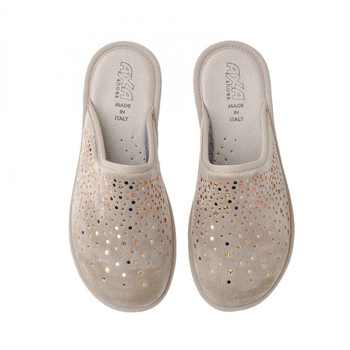 Домашняя женская обувь AXA Goccia Beige