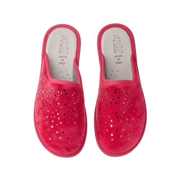 Домашняя женская обувь AXA Goccia Rosso