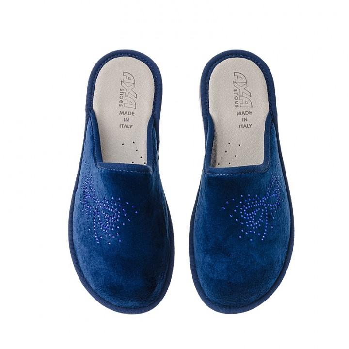 Домашняя женская обувь AXA Insetto Blue