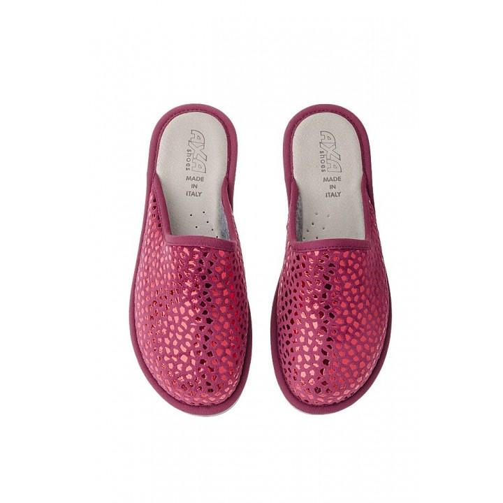 Домашняя женская обувь AXA Lamina Bordo