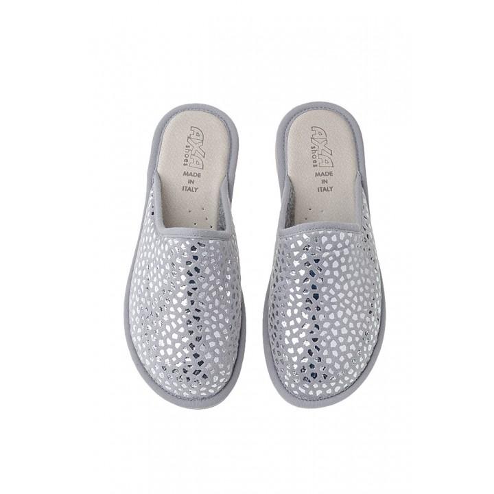 Домашняя женская обувь AXA Lamina Grigio