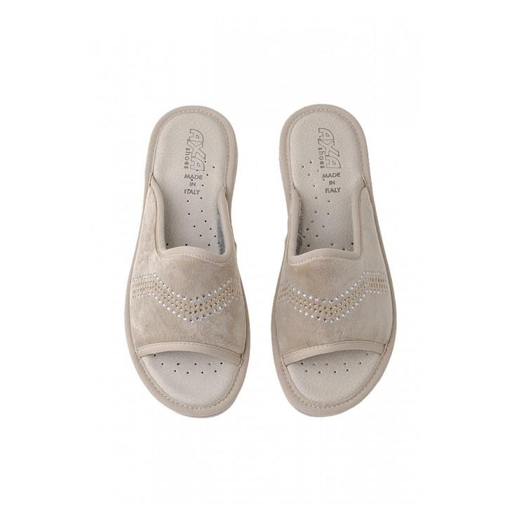 Домашняя женская обувь AXA Spezzata Beige