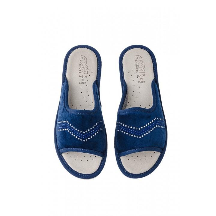 Домашняя женская обувь AXA Spezzata Blue