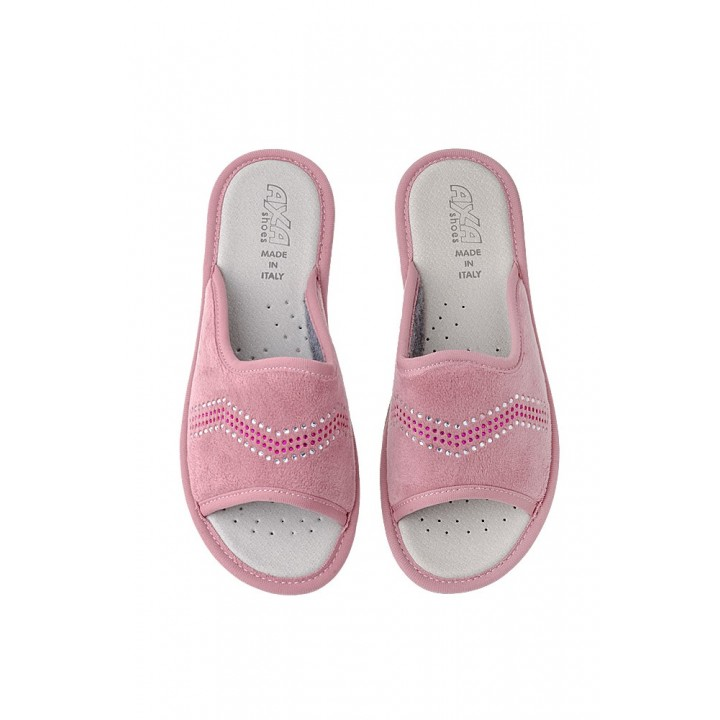 Домашняя женская обувь AXA Spezzata Cipria