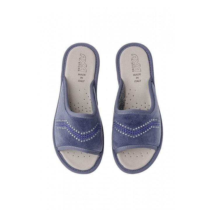 Домашняя женская обувь AXA Spezzata Petrolio
