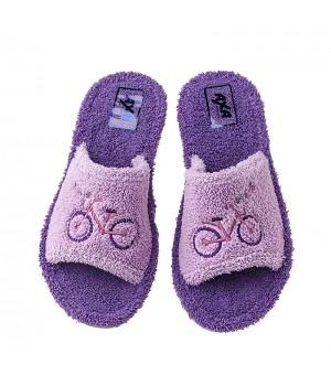 Домашняя женская обувь AXA Bicicletta Lilla