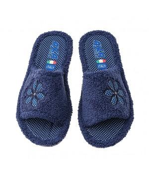 Домашняя женская обувь AXA Bouquet Di Spugna Blue