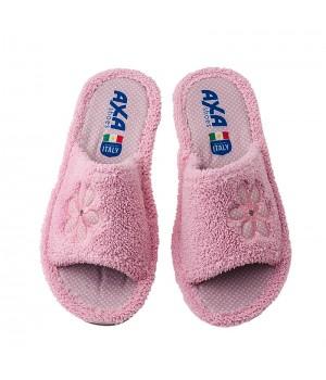 Домашняя женская обувь AXA Bouquet Di Spugna Rosa