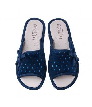 Домашняя женская обувь AXA Gocce Di Pioggia Blue