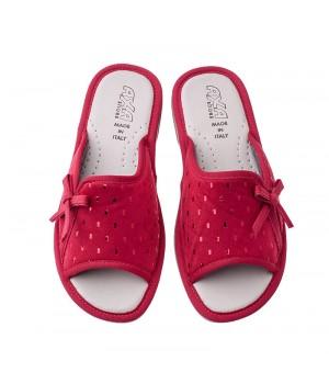 Домашняя женская обувь AXA Gocce Di Pioggia Rosso