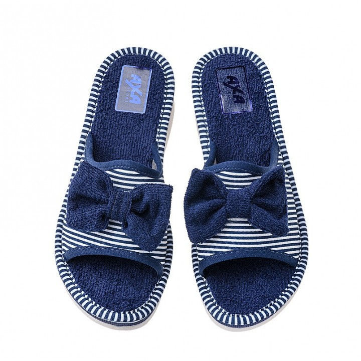 Домашняя женская обувь AXA Marinaio Blue